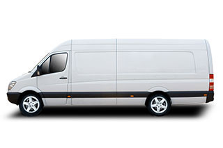 Long Wheel Base Van for hiring