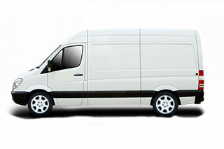 Medium Wheel Base Van for Hiring